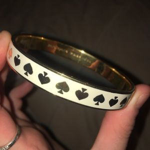 Kate Spade Live Colorfully Gold and Creme Bracelet